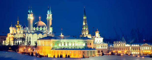 Казань оказалась в ТОПе городов популярных для путешествия на Новый год