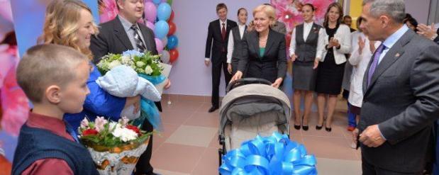 Ольга Голодец открыла в Казани перинатальный центр