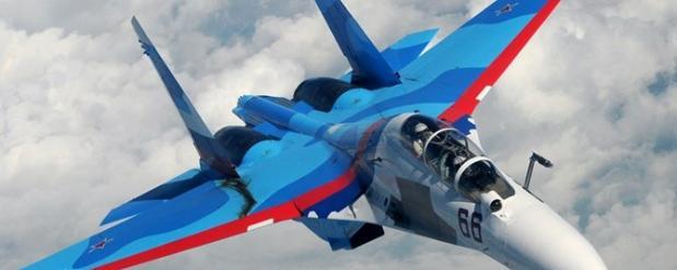 В небе над Черным морем российский истребитель опасно сблизился с американским истребителем