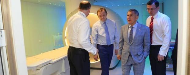 В Татарстане начал работу новый центр томотерапии