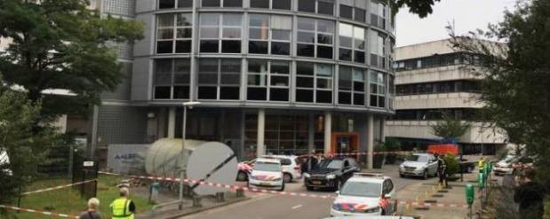 В Нидерландах мужчина взял в заложники женщину на радиостанции