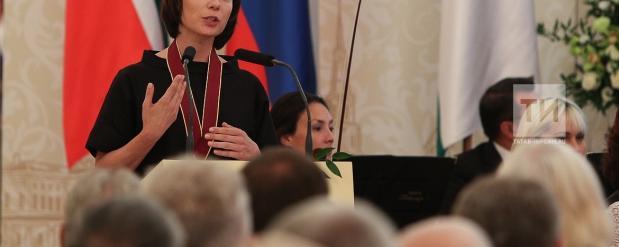 """Чулпан Хаматовой присвоено звание """"Почетный гражданин Казани"""""""