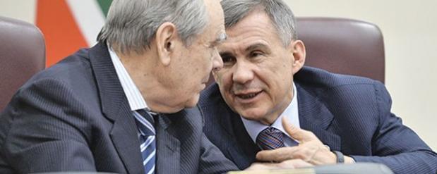 Рустам Минниханов поздравил Минтимера Шаймиева с днем рождения
