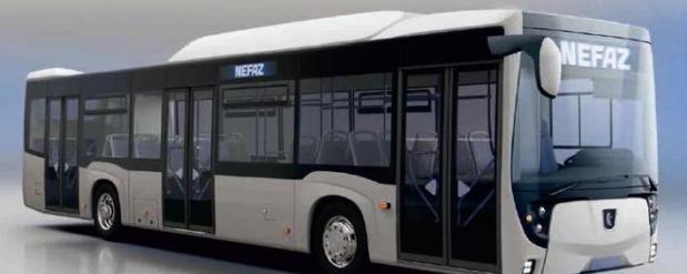 В Казани вновь запустили автобус, который работает на газе