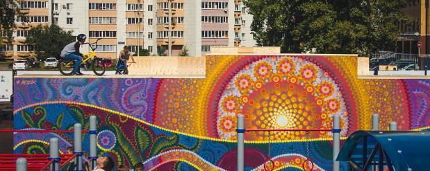 В Казани может появиться граффити в честь французских футболистов