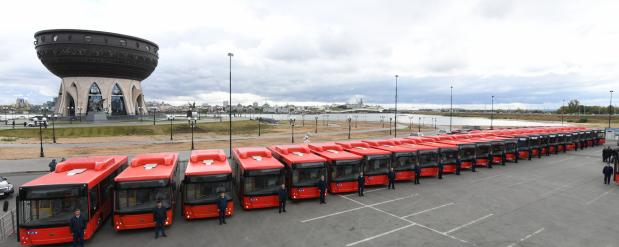 Автобусы в Казани могут перейти на газ
