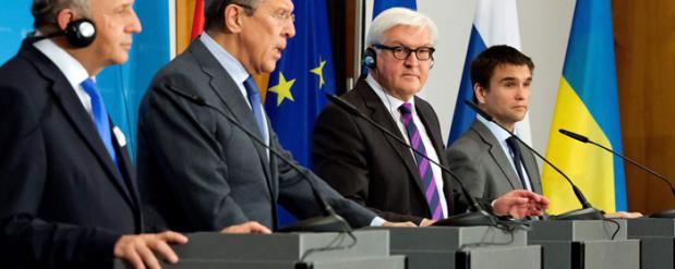 В ходе четырехсторонней встречи в Берлине главы МИД не нашли решения конфликта в  Украине