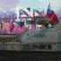 Видео с рестлером, который приехал на стадион в США на танке и с флагом России
