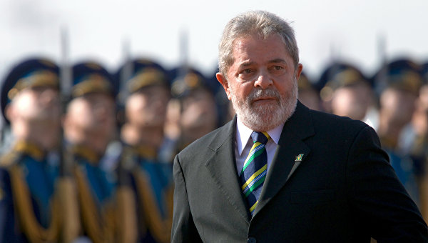 Бывший президент Бразилии Луис Инасио Лула да Силва. Архивное